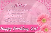 Birthday Quotes for Special Sister