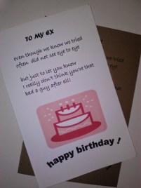 Birthday Quotes for Ex