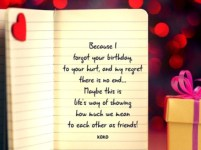 Birthday Quotes for Ex best friend