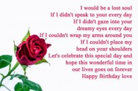Birthday Quotes for Ex Lover