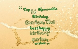 Birthday Quotes for ideal Person