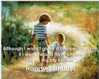Birthday Quotes for older Brother