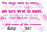 Birthday Quotes for your best friend