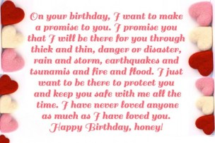 Birthday Quotes for your Girlfriend
