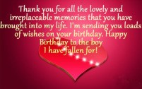 Birthday Quotes for your Lover