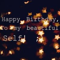 Birthday Quotes for yourself