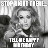 Funny Birthday Quotes for oneself