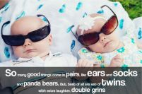 Funny Birthday Quotes for Twins