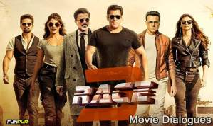 RACE 3 Movie Dialogues – Salman Khan, Anil Kapoor, Jacqueline Fernandez