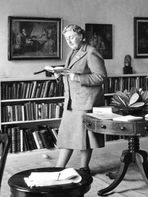 The world's best-selling author of all time Agatha Christie in Istanbul