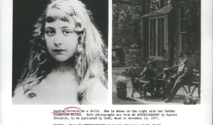 Agatha Christie as a child : Born in Torquay in 1890, Agatha Christie became, and remains, the best-selling novelist of all time.