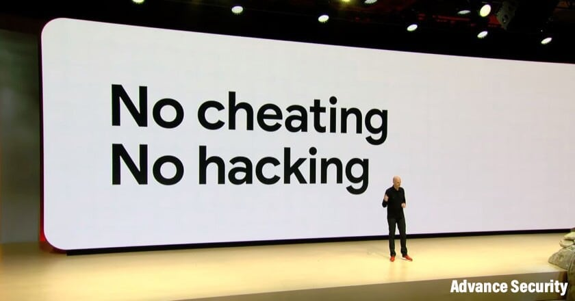 Google Stadia's weapon : No cheating, no hacking