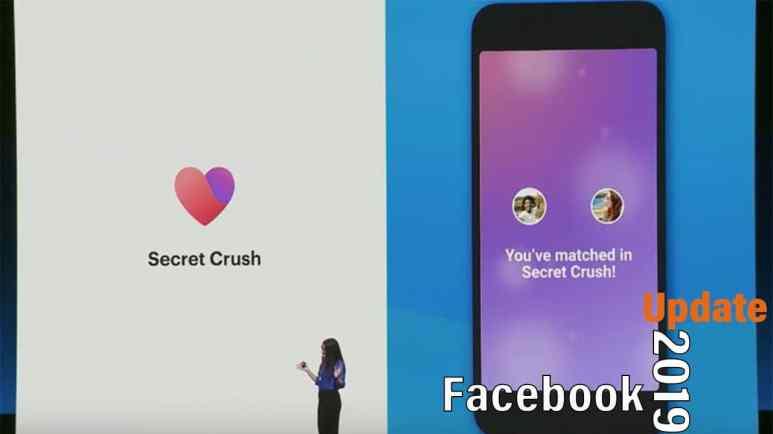 Facebook's Secret Crush feature