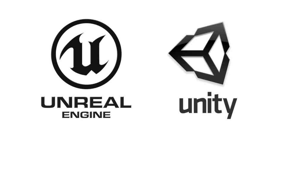most popular engines for smaller game developers are Unity and Unreal Engine