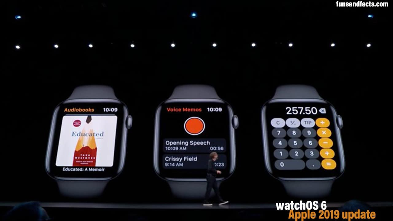 New features of watchOS 6 announced at WWDC Apple 2019 update
