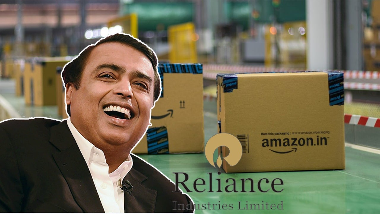 Mukesh Ambani owner of Reliance Industries buying Amazon india share for 173000 million