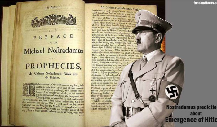 Nostradamus prediction about Hitler rise