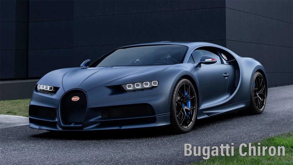 Bugatti Chiron - One of the famous model from Bugatti Automobiles
