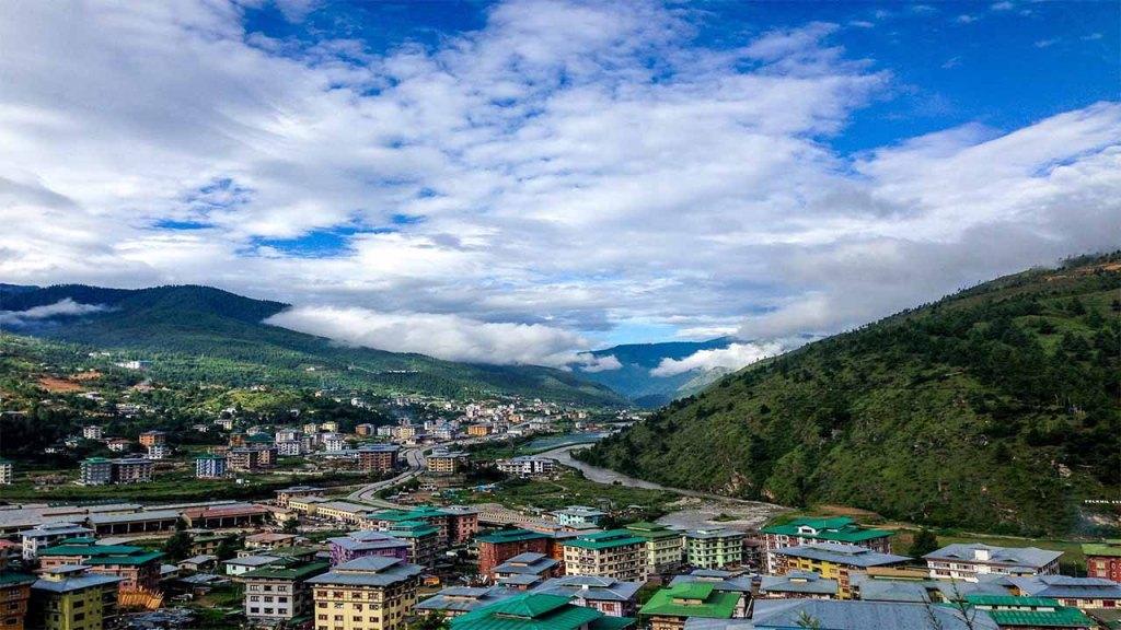 Bhutan land of happiness : Bhutan climate