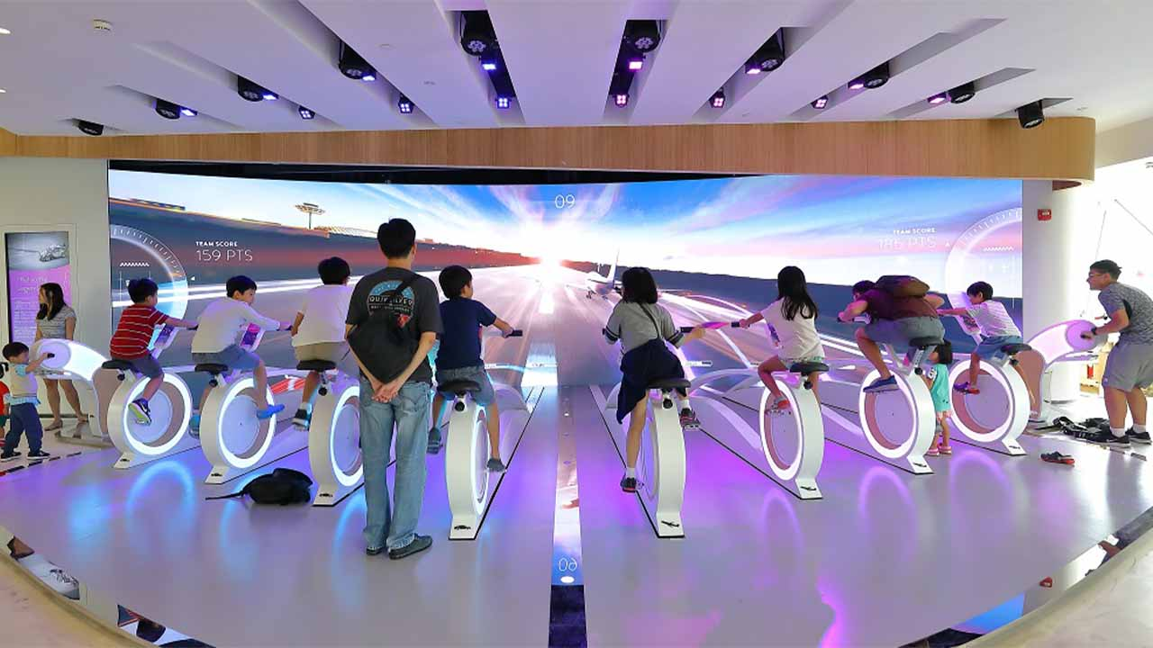 Singapore Jewel Changi Airport tourist attractions