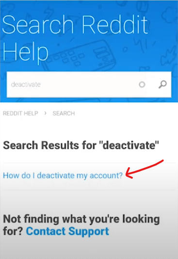 How to delete reddit account on android mobile and Pc