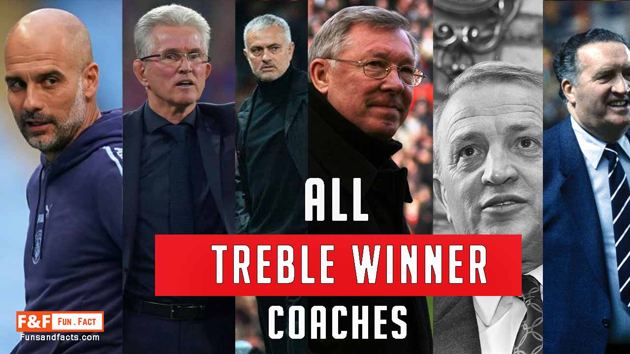 Treble winner successful coaches history