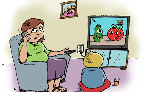 fun sized comics parenting cartoon veggie tales