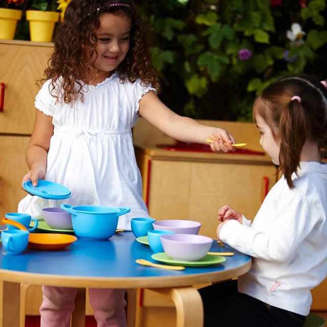 Cookware and Dining Set from Green Toys