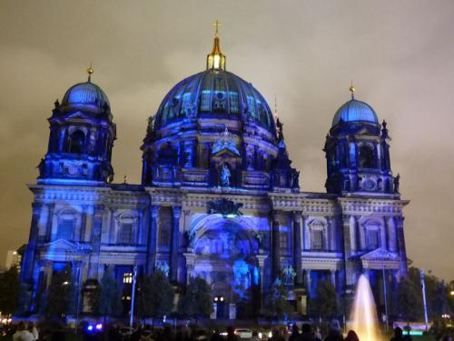 k-Berliner Dom beleuchtet beim Festival Of Lights (40)