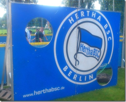 Hertha BSC Torwand Blog