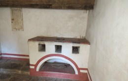 The granary at Mission San Jose