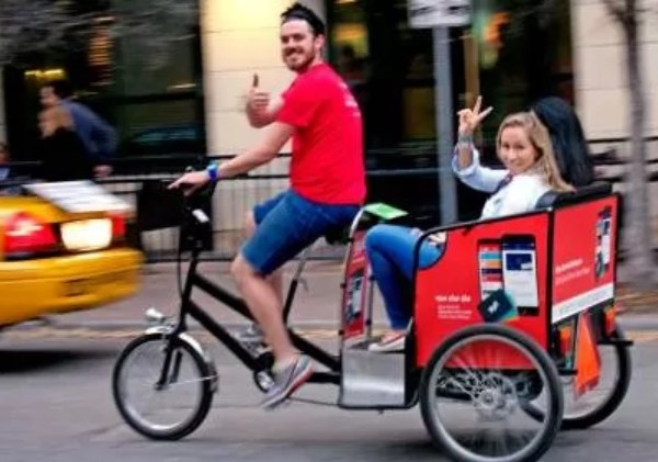 Historic Downtown Pedicab Tour