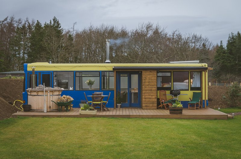 10 Coolest Converted Vacation Homes You Can Rent