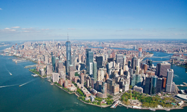 Helicopter Sightseeing in New York City