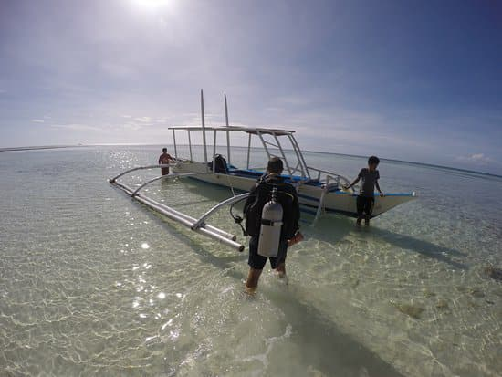 Scuba diving in Anda Bohol.