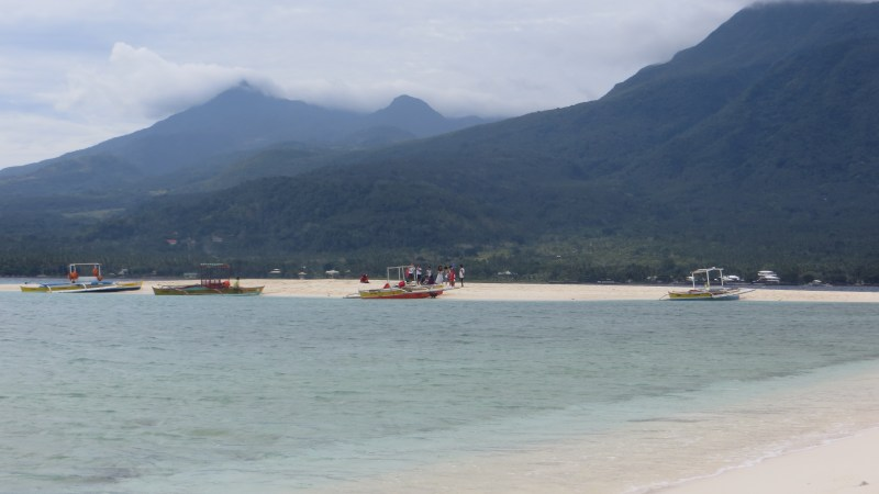 White Island: A Stunning Natural Sandbar in Camiguin Philippines