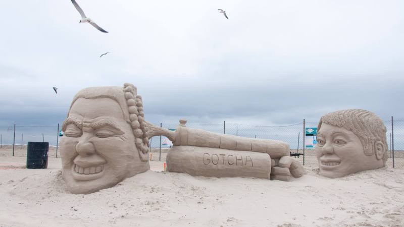 Texas Sand Festival 2019: The Largest Native-sand Sculpture Contest in America