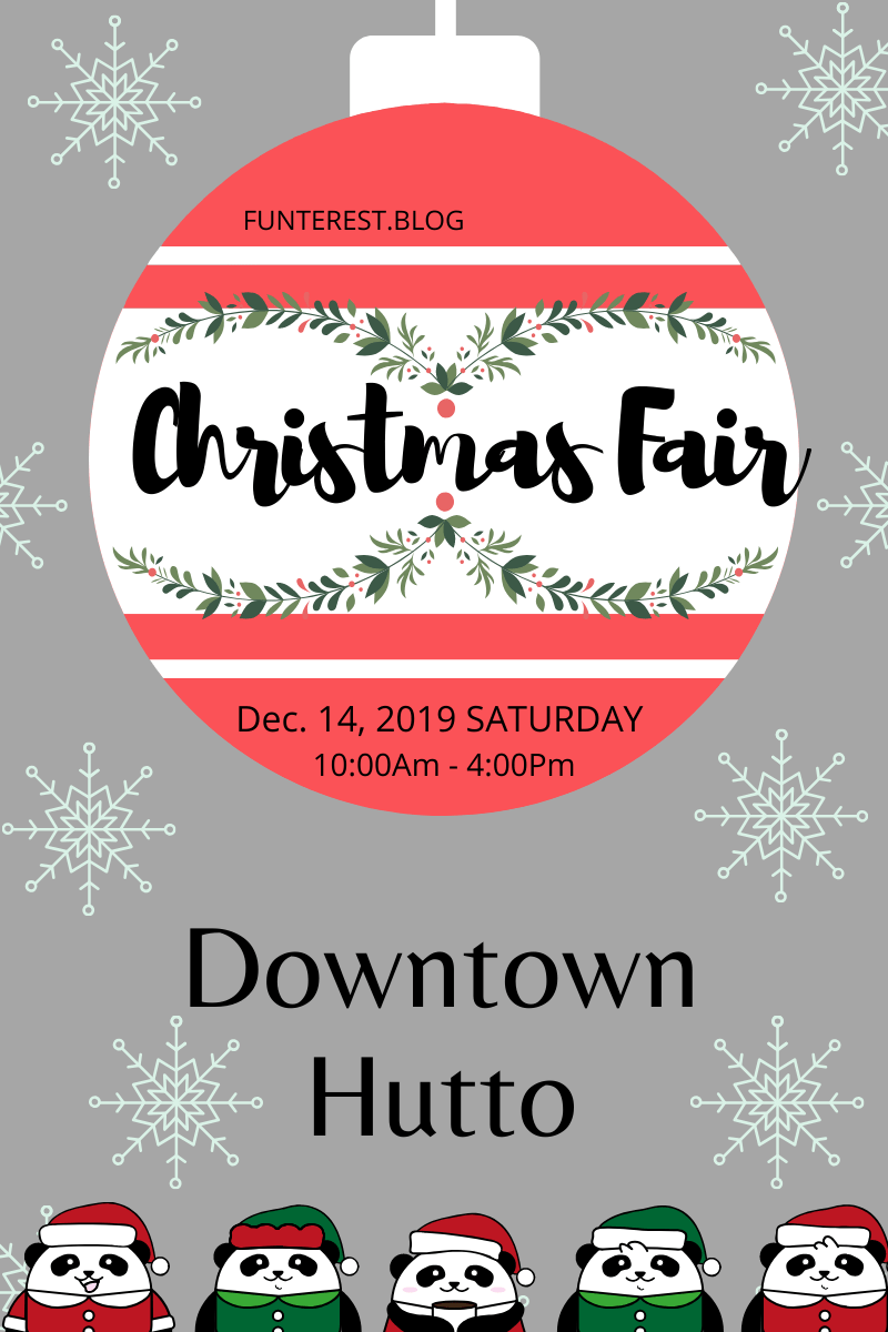 DOWNTOWN HUTTO CHRISTMAS FAIR