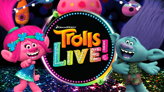 Trolls LIVE! At The H-E-B Center Cedar Park | Jan 31 – Feb 2, 2020