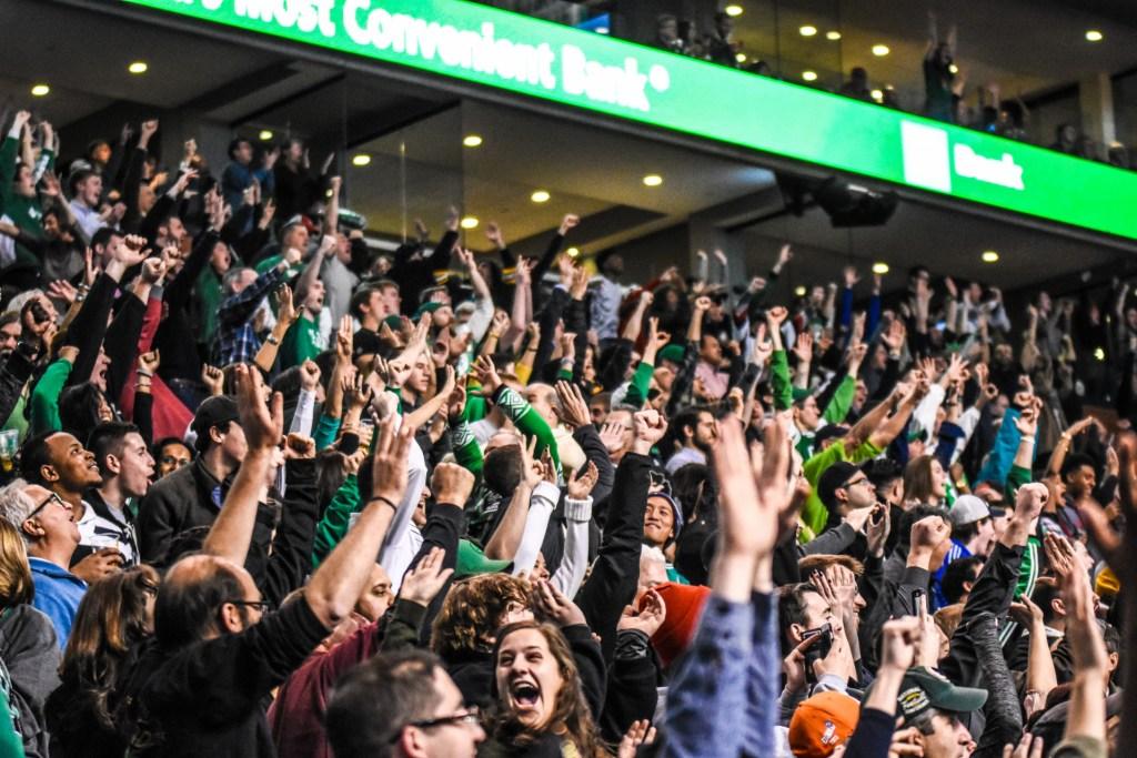 TD GARDEN - Boston Celtics vs Philadelphia 76ers on November 25, 2015. Photo by Keith Sliney.