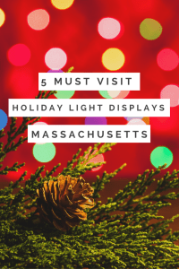 5 Must Visit Holiday Light Displays in Massachusetts