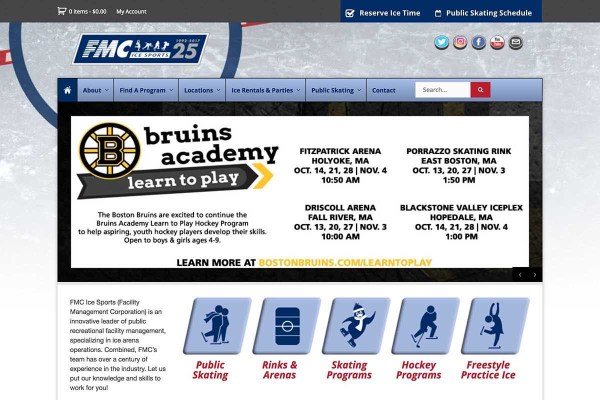 Central MA Youth Programs: FMC Ice Sports Worcester.