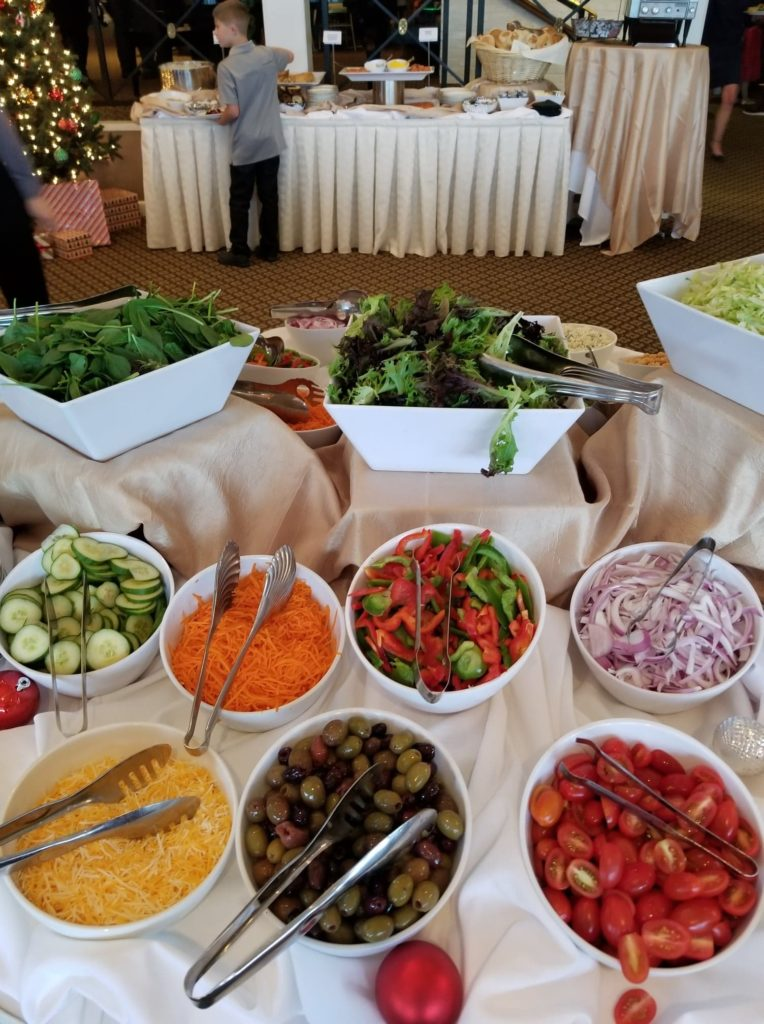 The International Golf Club and Resort - Brunch with Santa - Salad Bar