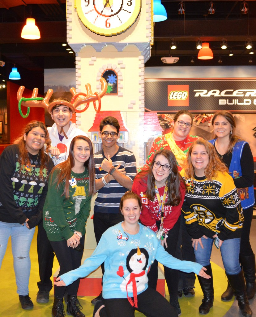 Legoland Adult Night - Ugly Sweater Party