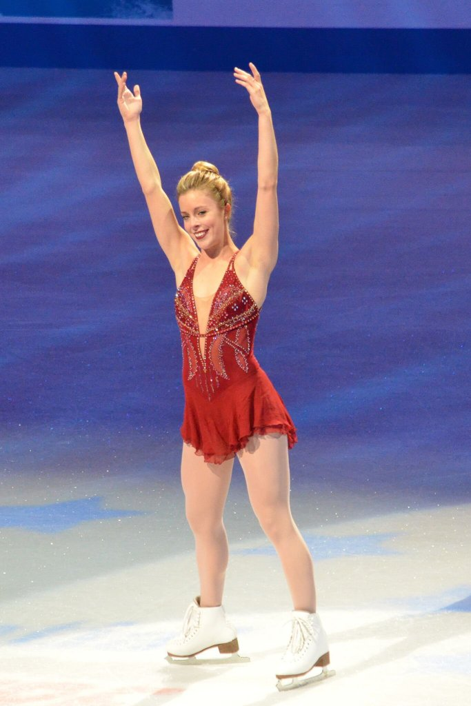 Ashley Wagner Ice Skating