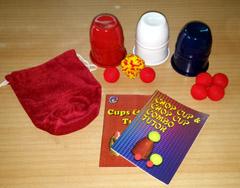 Chop Cup Combo RWB