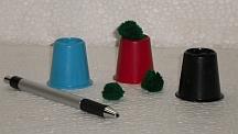 Cups & Balls Mini Plastic