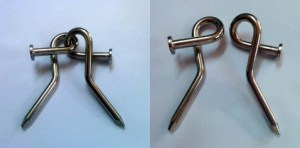 Metal Puzzle Nail Biter