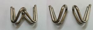 Metal Puzzle V Bend