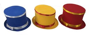 folding top hat colored 2